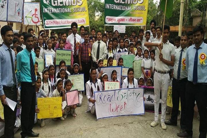 B R GENIUS INTERNATIONAL SCHOOL-Road Safety Awareness