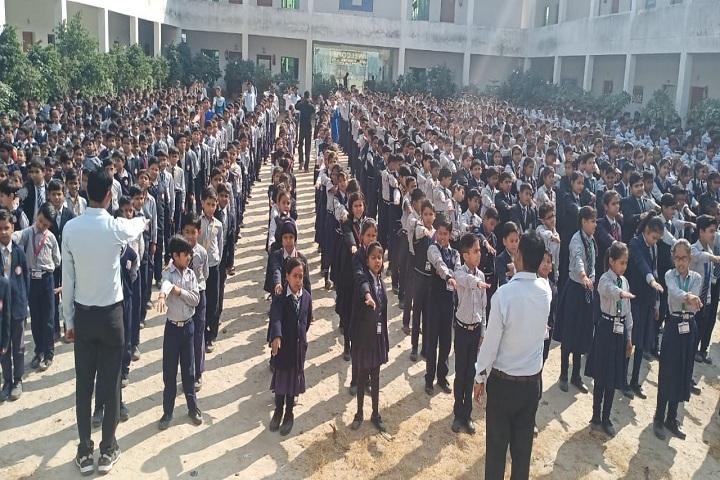 Baba International School-Assembly