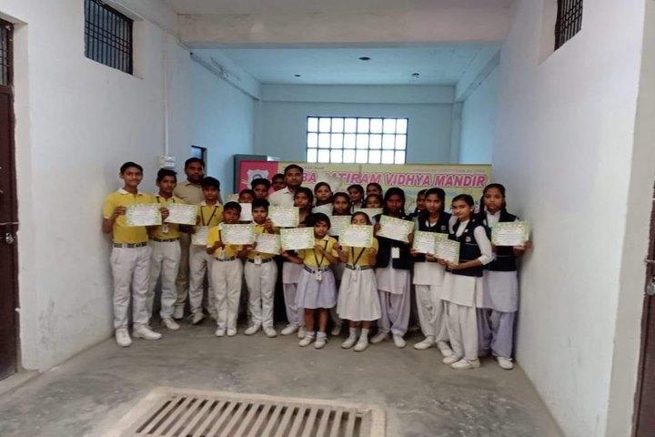 Baba Patiram Vidhya Mandir School-Certificate Distribution