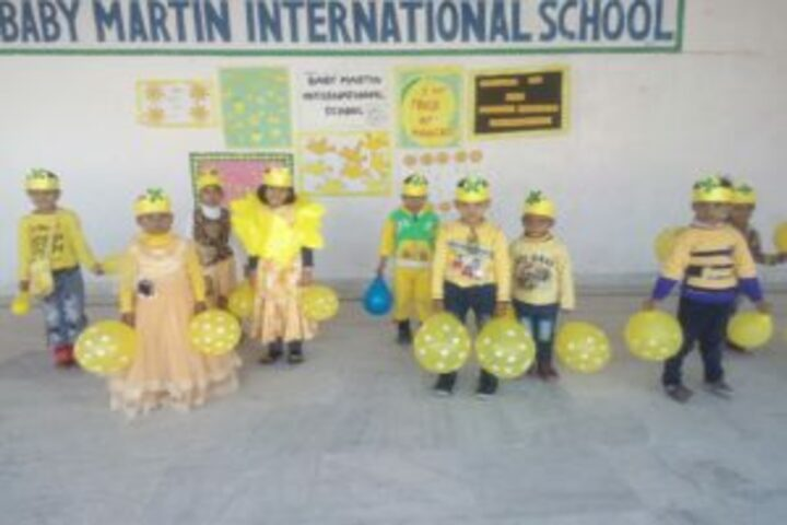 Baby Martin international school- farewell celebrations