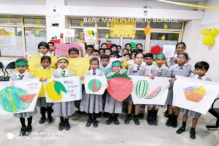 Baby Martin international school- fruits day celebrations