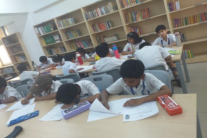 Bal Bharati Public School-Library