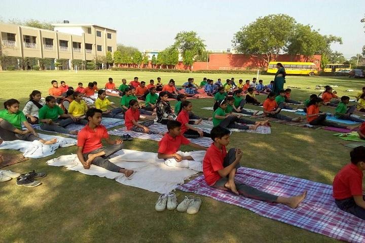 Bal Jyoti Public School-Yoga Day