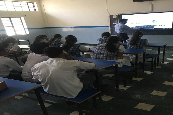 Balmukund Ramchandra Bazari Saraswati Vidya Mandir-Smart Classroom