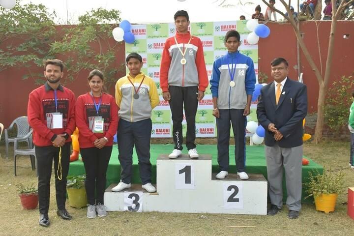 Baluni Public School-Medals Distribution