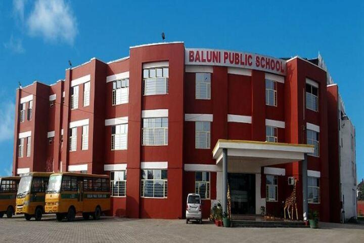 Baluni Public School-School Campus