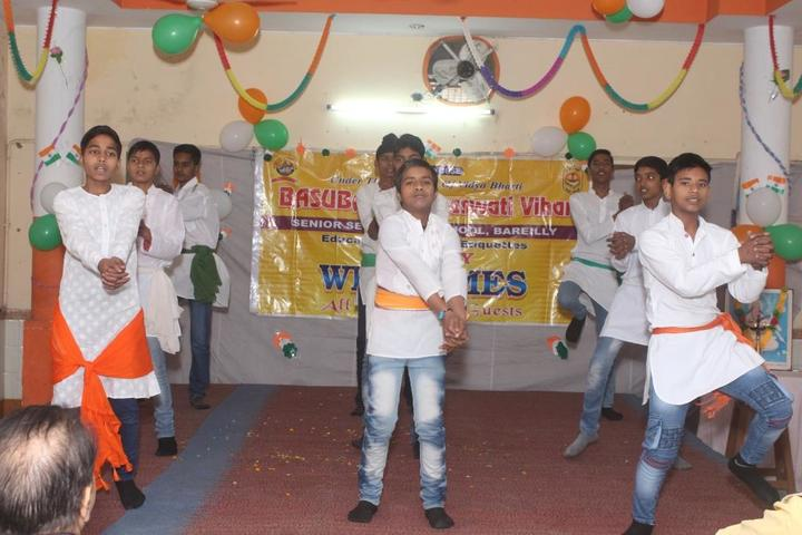 Basu Baral saraswathi vihar-Independence day celebrations
