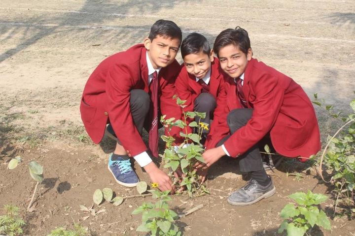 Basu Baral saraswathi vihar-Plantation day