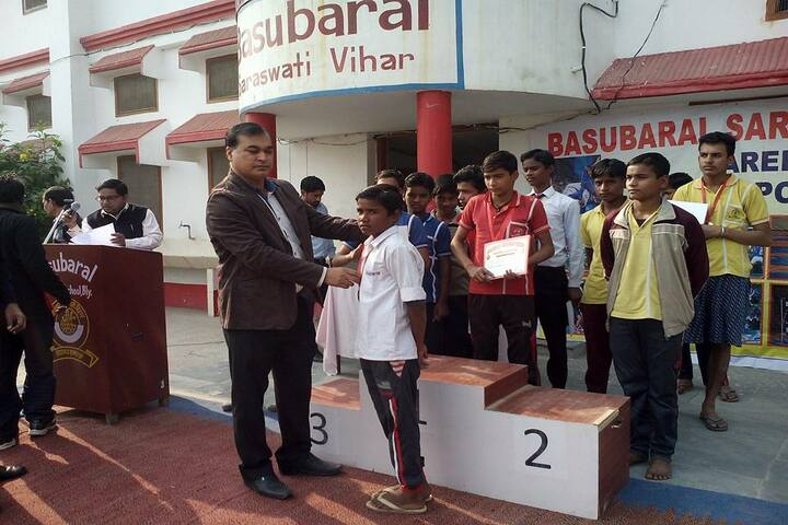 Basubaral Saraswati Vihar Senior Secondary School-Medal Distribution