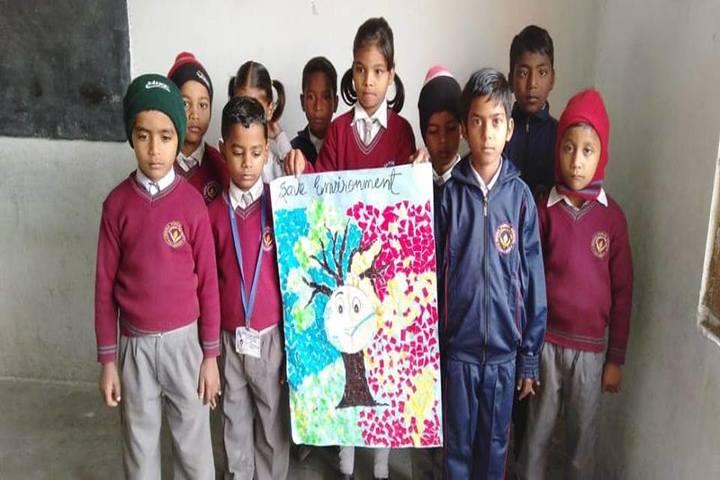 Beena Public School-Save environment activity