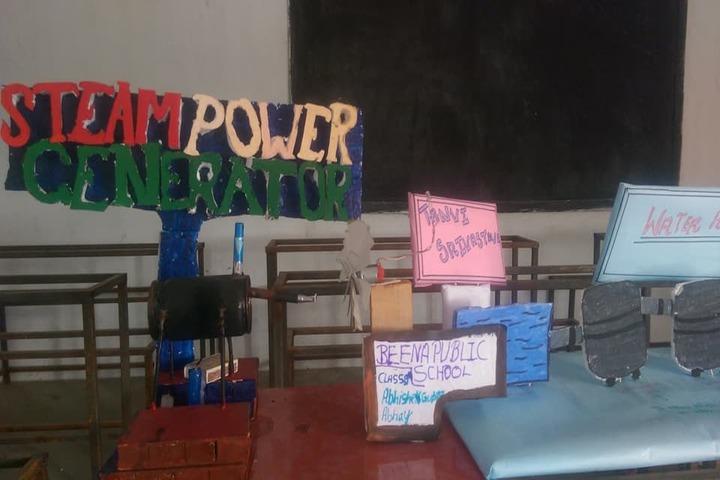 Beena Public School- Lab Experiments