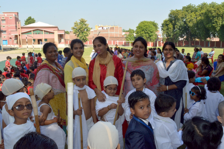 Bethany Convent Senior Secondary School-Gandhi Jayanthi Celebrations