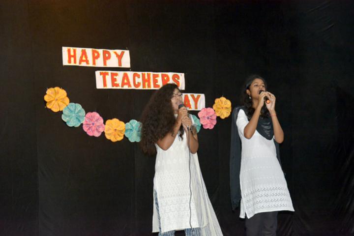 Bethany Convent Senior Secondary School-Teachers Day Celebrations