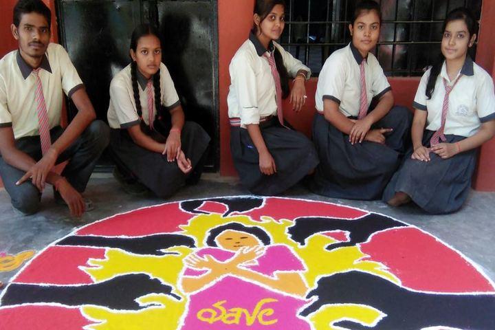 Bethel Academy-Rangoli