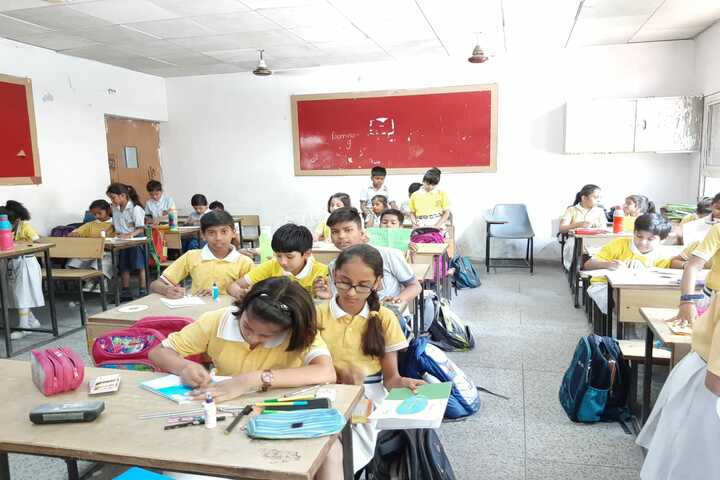 Bhagirath Public School-Classroom