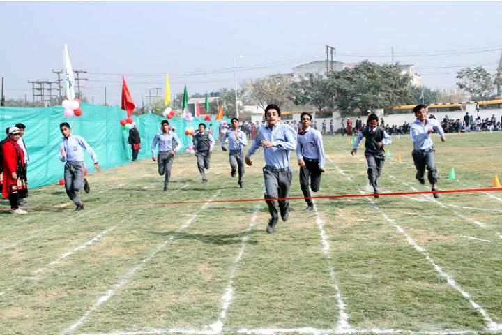 Bharat Ram Global School-Sports Day Celebrations
