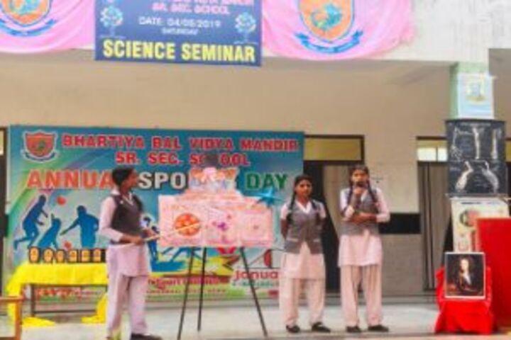 Bhartiya Bal Vidya Mandir School-Sports Day
