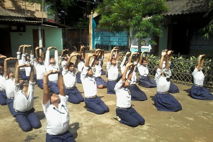 Saraswati Shishu Mandir-Yoga Day