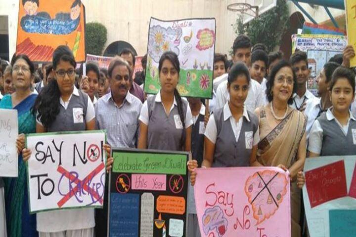 Bhartiya Vidyapeeth Senior Secondary School-Rally