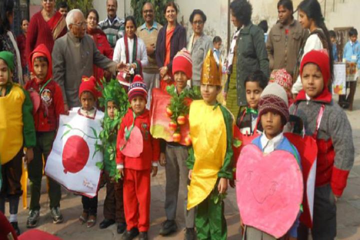 Bhartiya Vidyapeeth Senior Secondary School-Fruits Day Celebrations