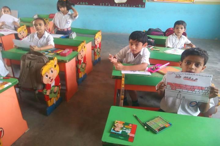 Bhartiyam School-Classrooms