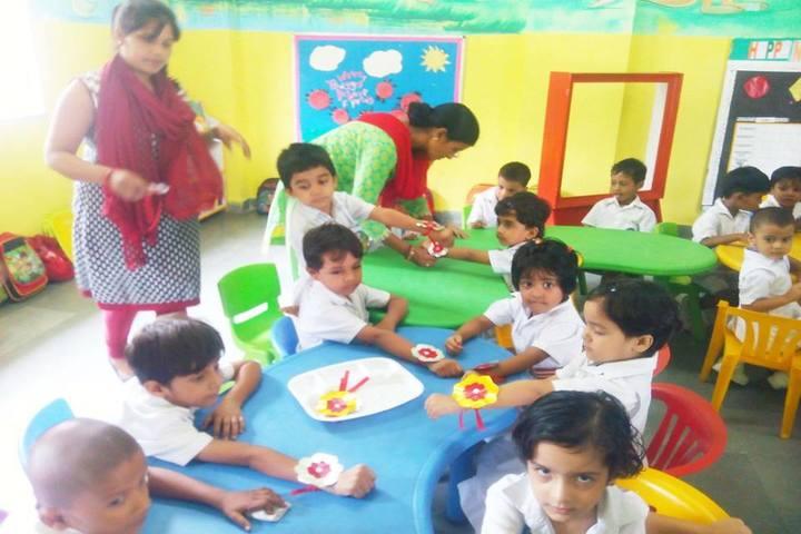 Bhartiyam School-Rakhi Celebrations