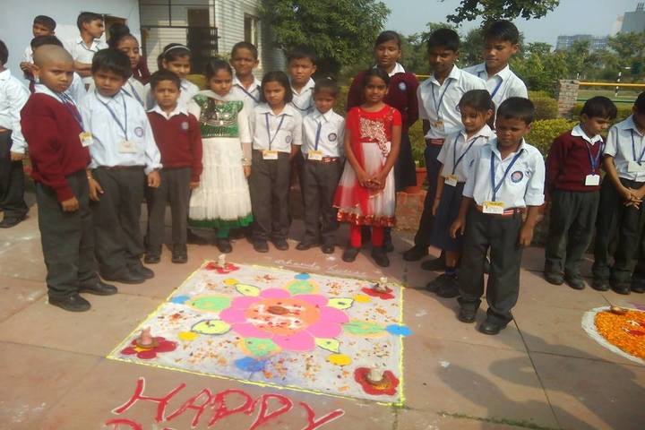 Bhartiyam School-Rangoli