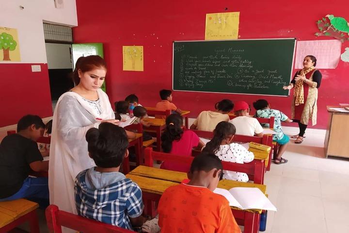 Bhasins International School-Classrooms
