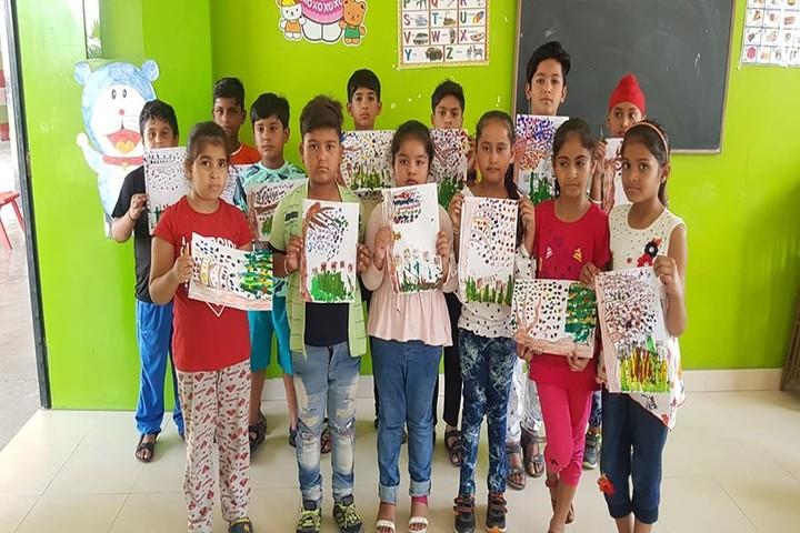 Bhasins International School-Poster Making