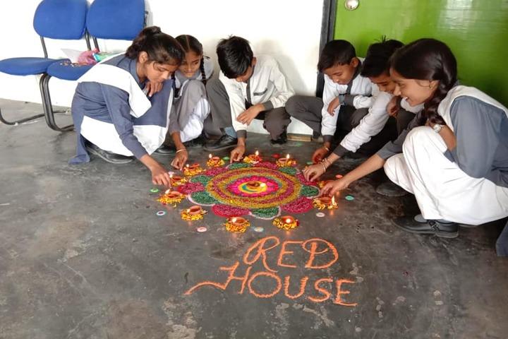 Bhasins International School-Rangoli