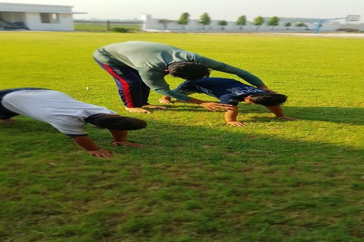 Bhasins International School-Yoga