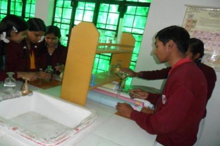Bhonwal Convent Senior Secondary School-Lab