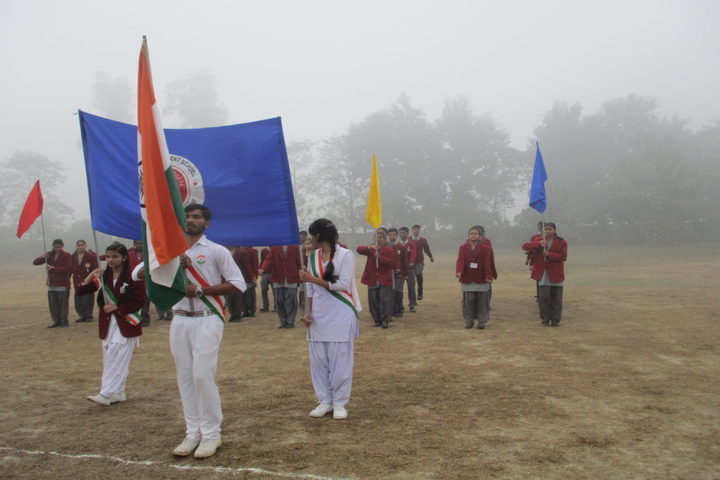 Bhonwal Convent Senior Secondary School-Marchpast