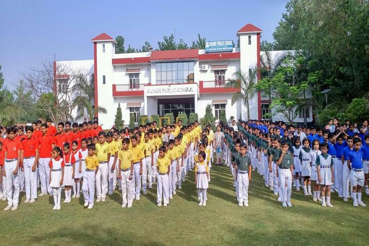 Bijnor Public School-Assembly