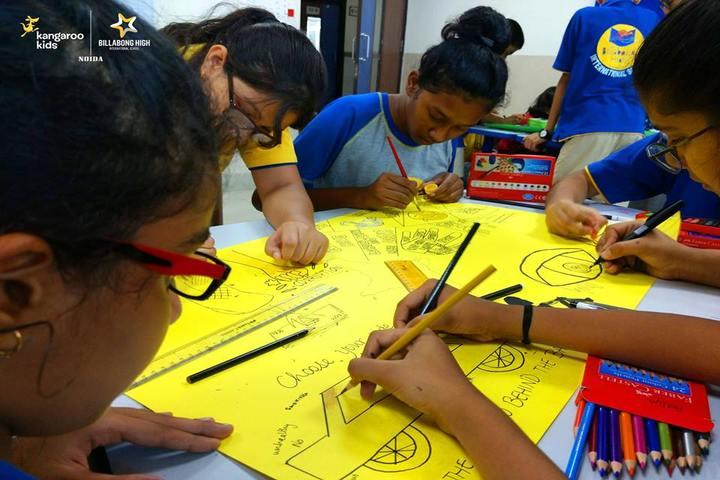 Billabong High International School-Drawing Competition