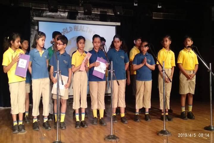 Billabong High International School-World Health Organisation Event