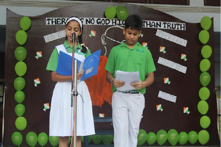 Bishop Conrad Senior Secondary School-Gandhi Jayanthi Celebrations