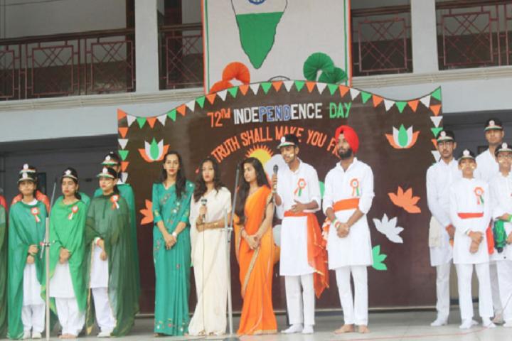 Bishop Conrad Senior Secondary School-Independence Day Celebrations
