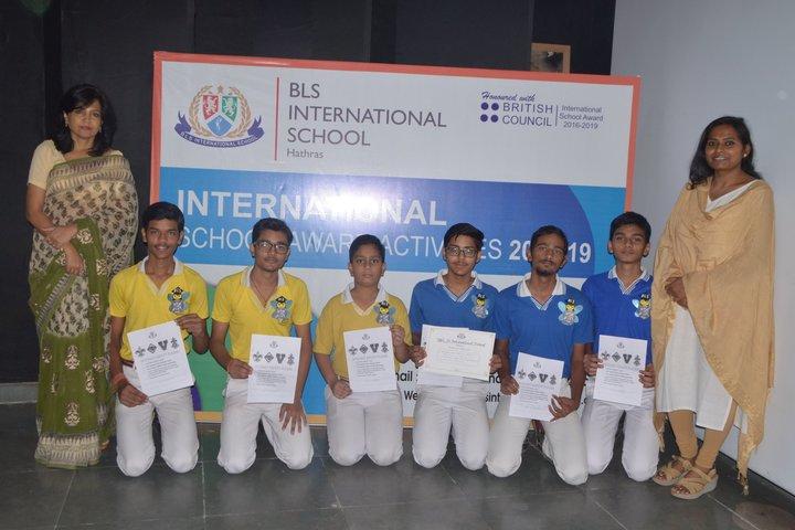 BLS International School-Achievements