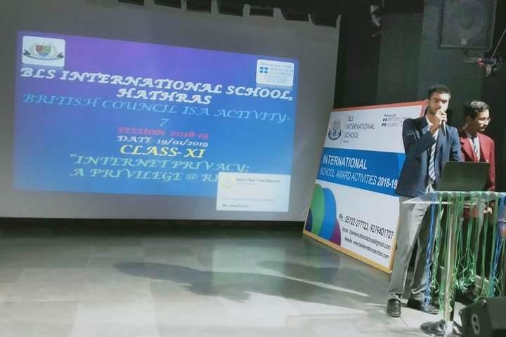BLS International School-Activity