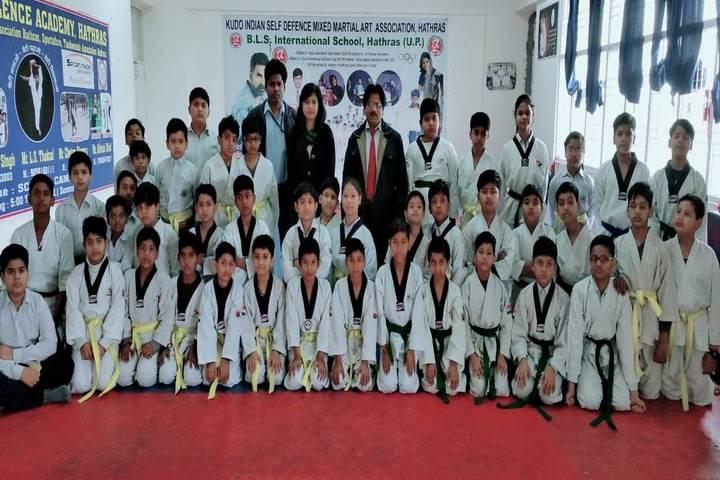 BLS International School-Karate Team