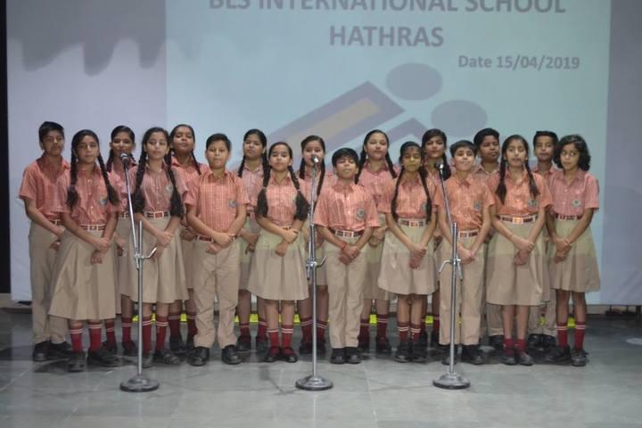 BLS International School-Singing