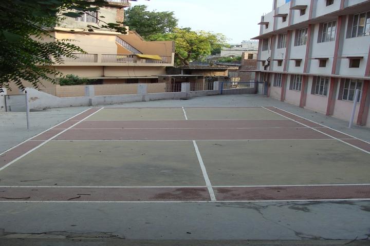 Blue Bell Dr Ram Tirth Dube Memorial School-Badminton Court
