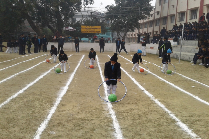 Blue Bell Dr Ram Tirth Dube Memorial School-Soccerball Race