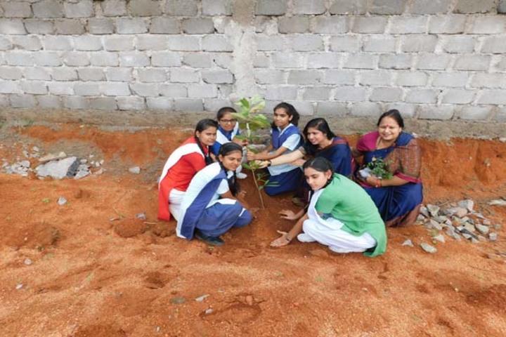 Blue Bells School-Plantation Activity