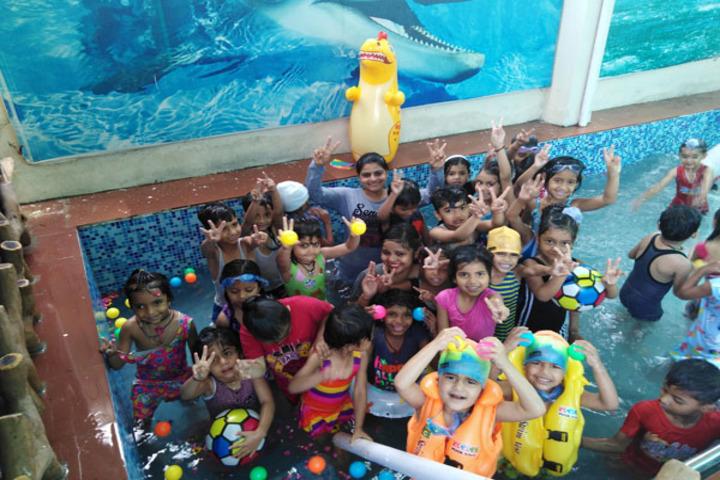 Blue Bells School-Pool Party