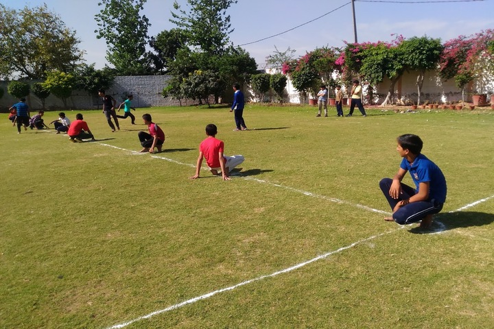 BNG International School-Kho Kho game