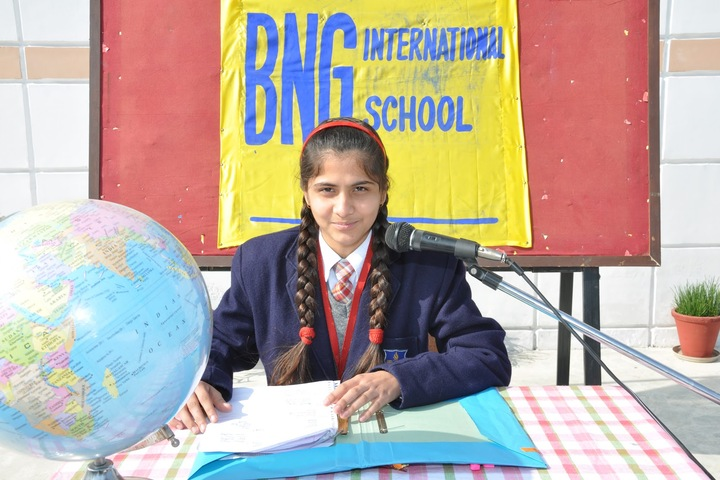 BNG International School-News reading