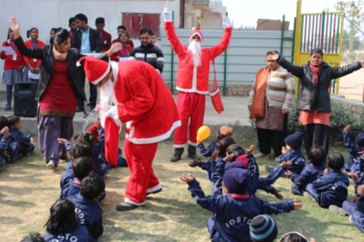 Boston Public School-Christmas Celebration