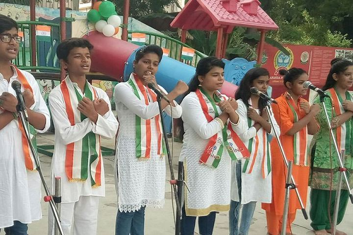 Brahmananda Public School-Independence Day Celebrations